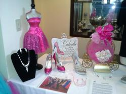 Examples of the beautiful shoes, jewelry, and purses, our Cinderellas may select from when shopping during Boutique Day.