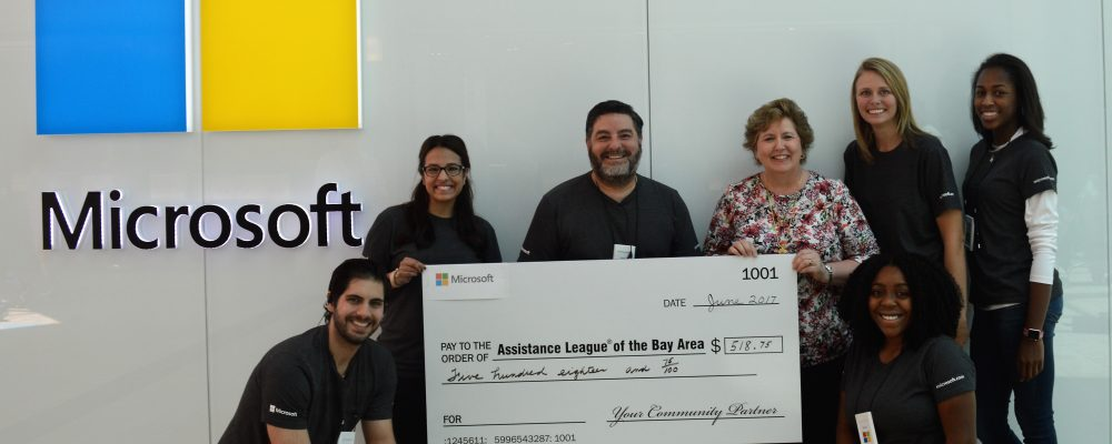 Microsoft Donates For Employee Volunteer Hours Assistance League