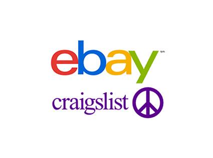 Find us on Ebay and Craigslist.