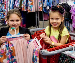 Providing clothing for students in need