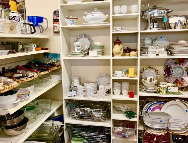 We have a great selection of housework and home decor items!