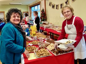 Don't miss our 15 foot long cookie table!