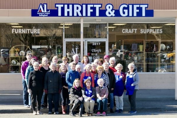 View of our Thrift & Gift Shop on Meridian St.