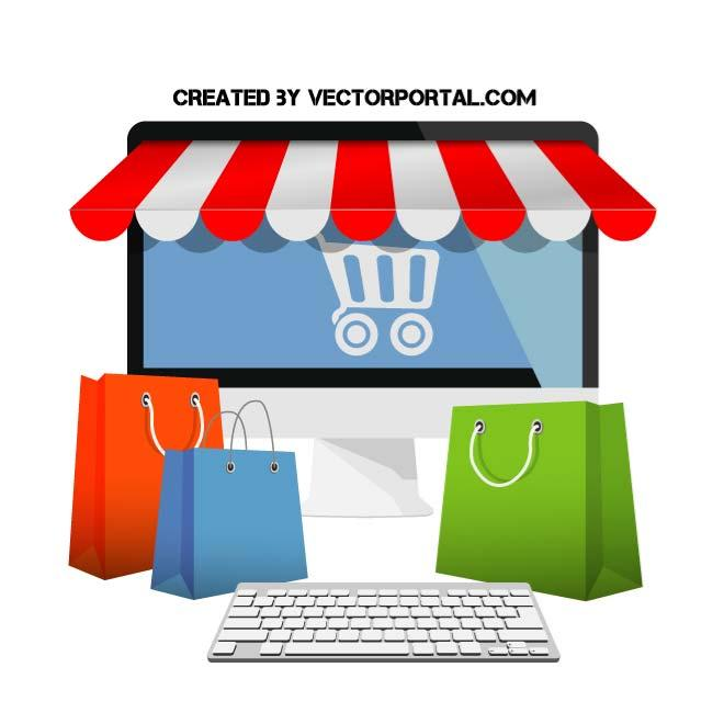 Image of Shopping online
