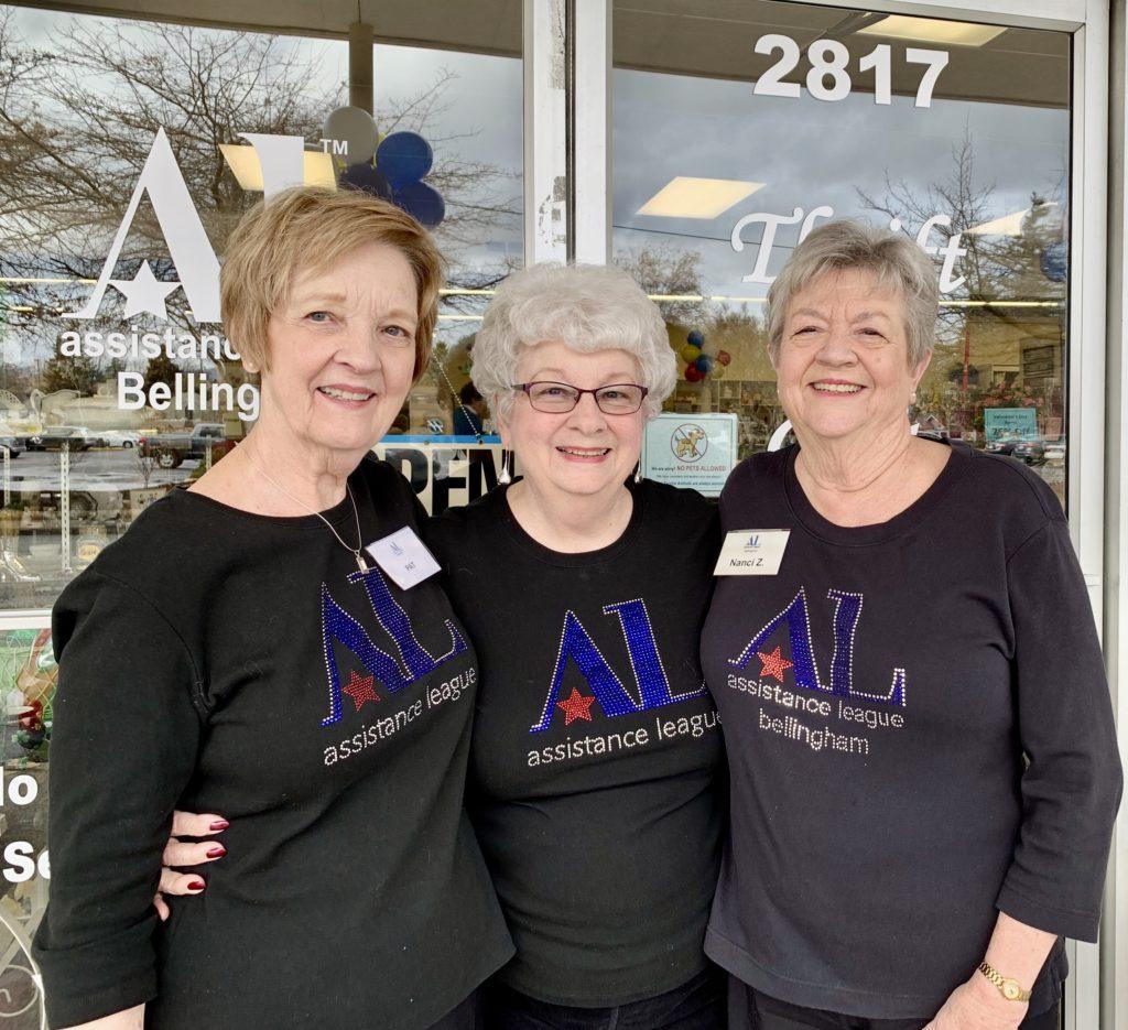 Three Assistance League Volunteers