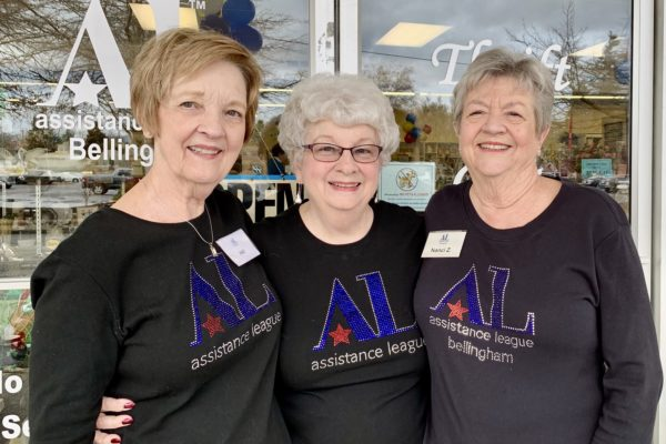 Three Assistance League Volunteers
