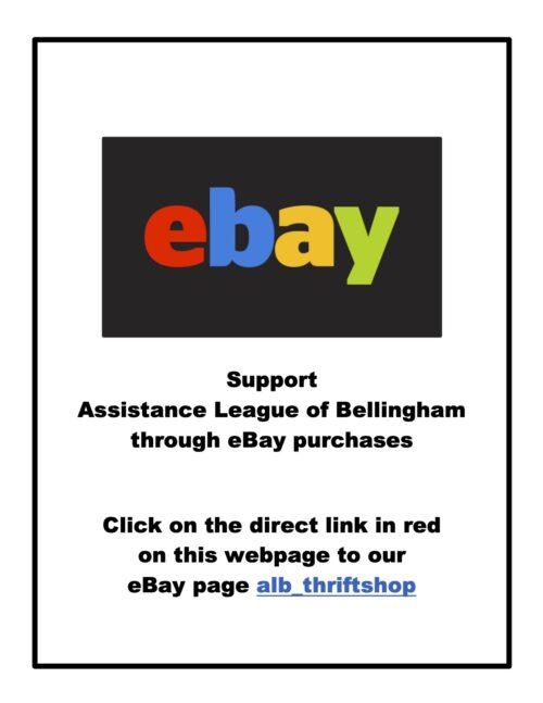 Assistance League has eBay site