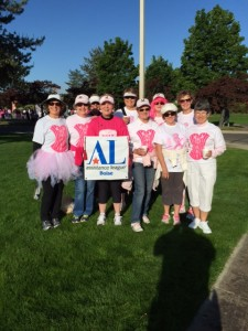 Members at Race For The Cure