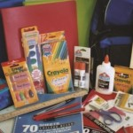 Sample of items provided through Operation School Supplies