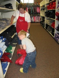 Students enjoy choosing their own clothes
