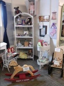 Children's deparment in Thrift Shop