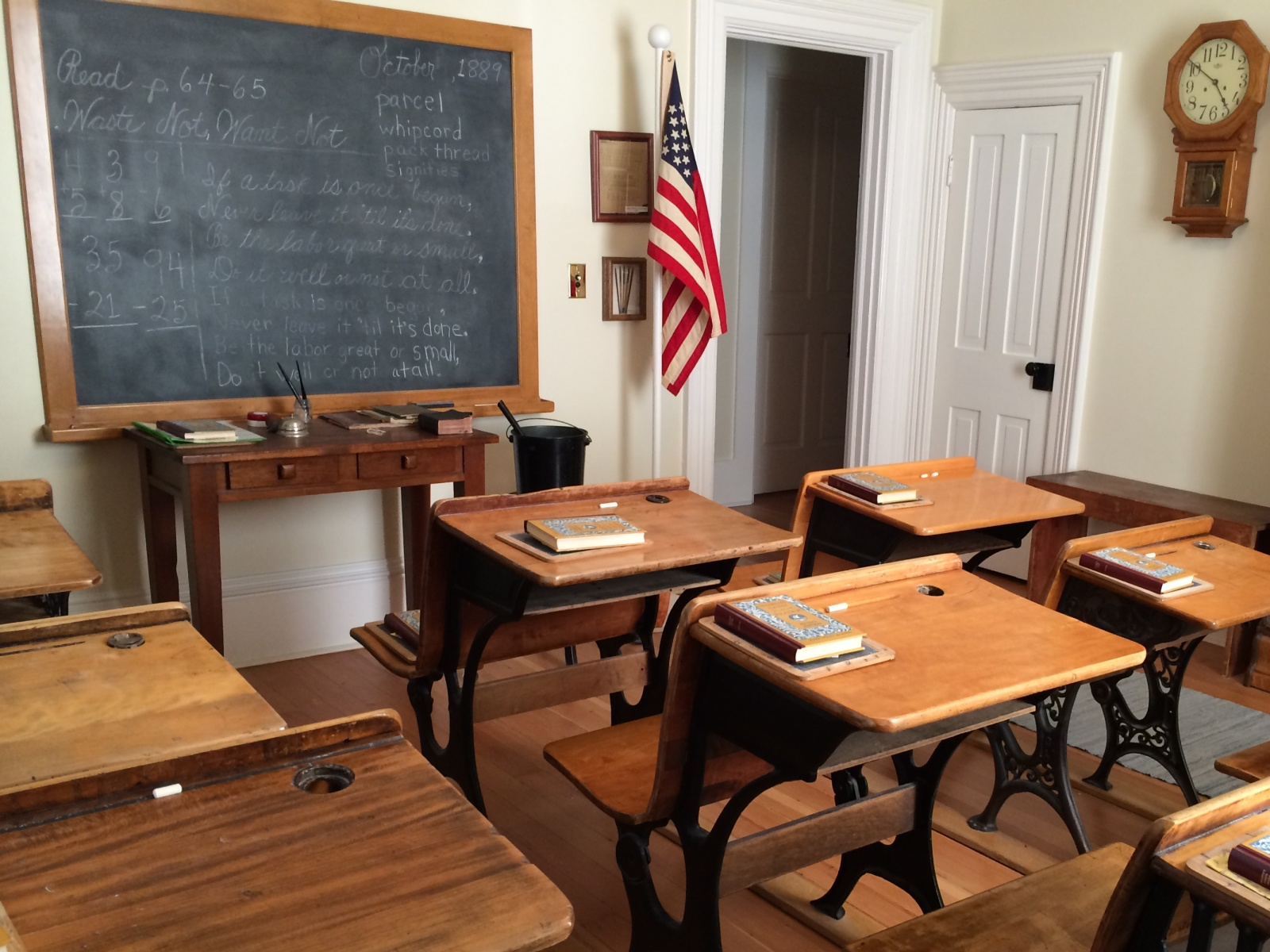 School Room in the Bown House
