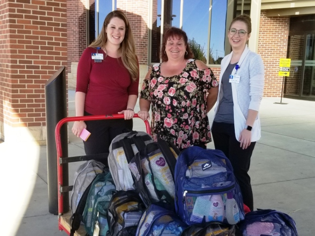 Baby bundles being delivered to a Canyon County hospital