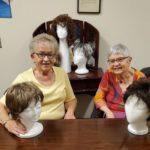 Members showing wigs