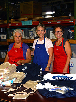 Assistance League of the Chesapeake Kids In Need Uniform sorting