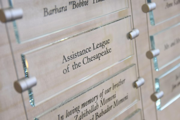 AL Chesapeake plaque at BWMC