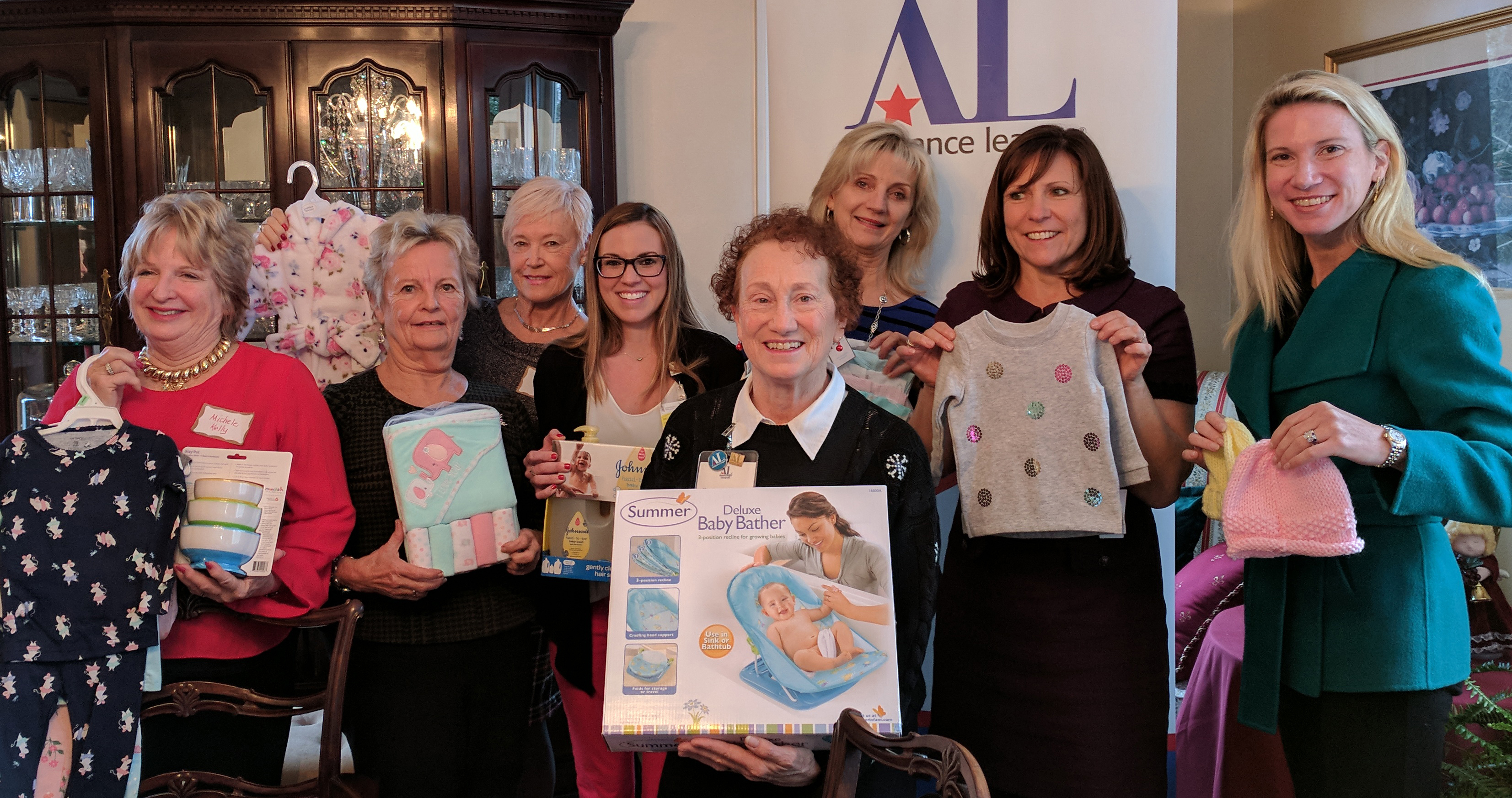 Assistance League of the Chesapeake Stork's Nest Baby Shower