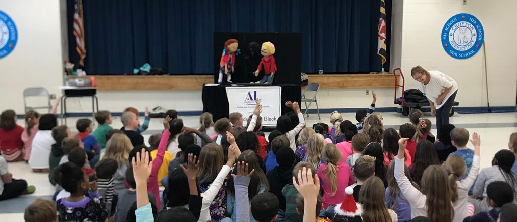 Kids On the Block Puppeteers of Assistance League of the Chesapeake