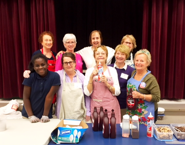 Ice Cream Social hosted by Assistance League of the Chesapeake at Meade Heights Elementary School