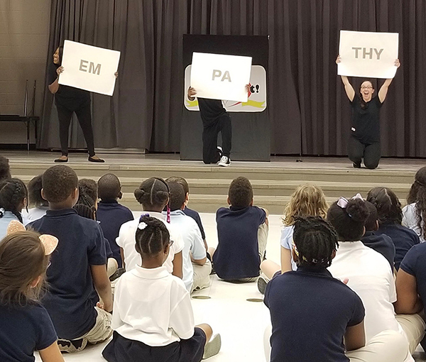 Assistance League of the Chesapeake Grant Funds Performances at Local Schools