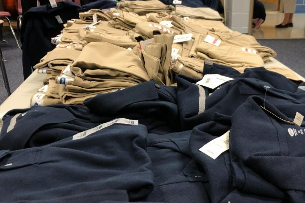 Assistance League of the Chesapeake Kids In Need uniforms for children