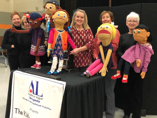 Assistance League of the Chesapeake Kids On The Block Anti-Bullying Puppet Troupe