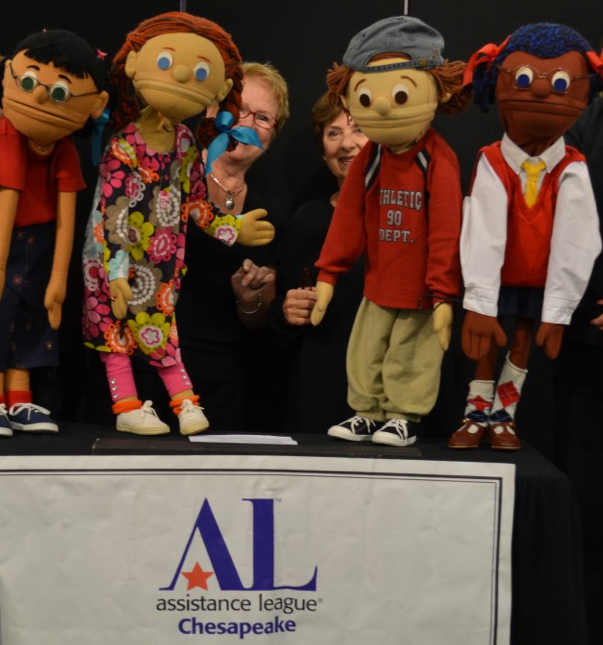 Kids On The Block puppets by Assistance League of the Chesapeake