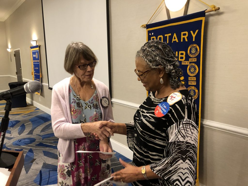 Assistance League of the Chesapeake accepts grant from Parole Rotary Foundation