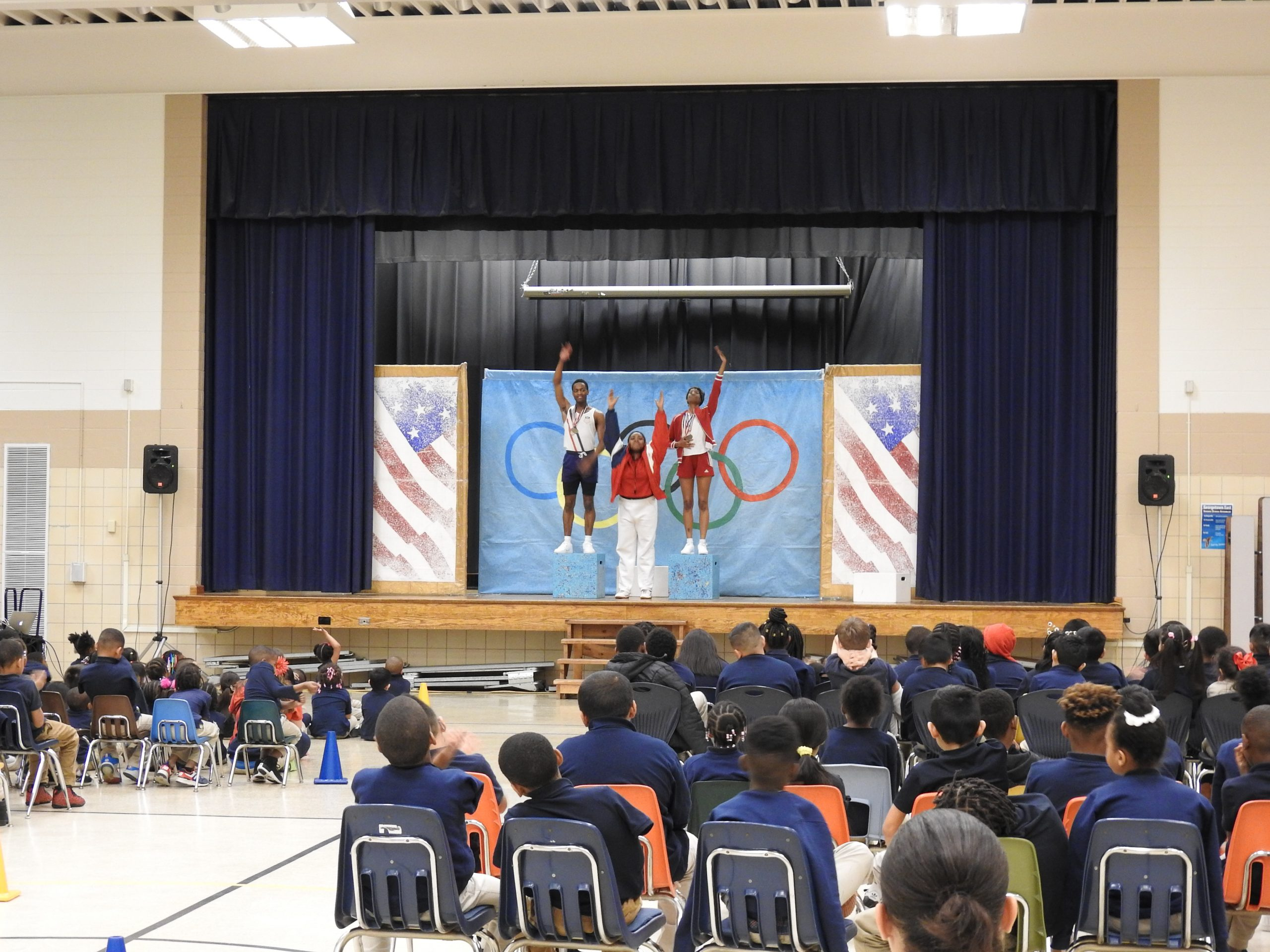 """""""Going the Distance"""" performance at Georgetown East Elementary School"""