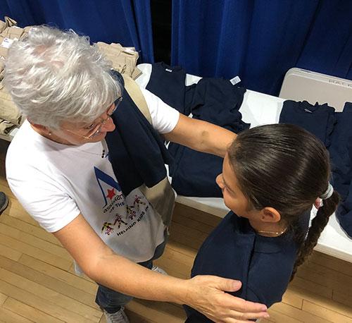 Assistance League Kids In Need Uniform Measuring