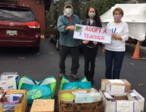 ALC Adopt a Teacher delivery of materials