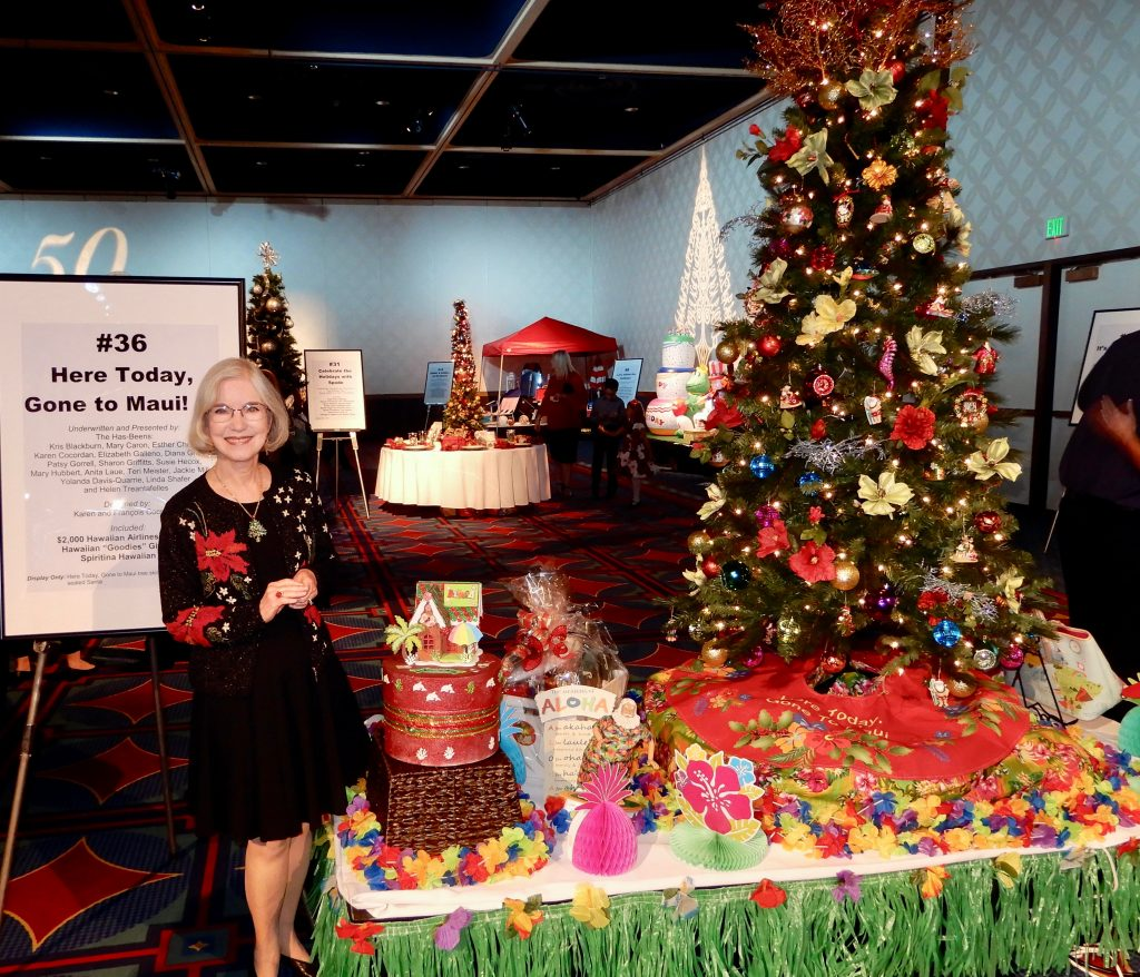 Christmas Tree Auction: Assistance League Of Covina Valley