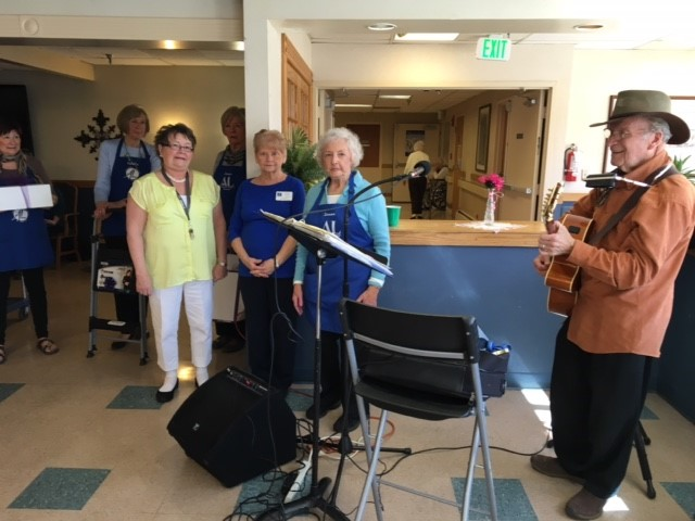 Cherrelyn Nursing Home Guitar Player