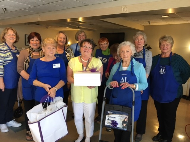 Ice Cream Social Picture of Auxiliary Ladies
