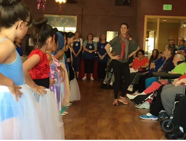 Serves our Seniors Dancers 2016