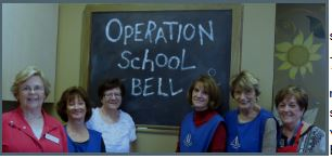 Operation School Bell Volunteers