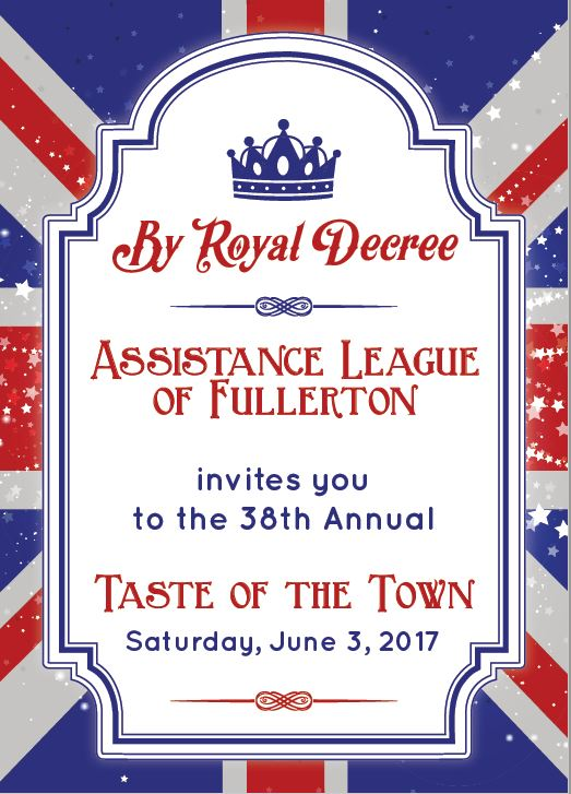 Page 1 2017 Taste of the Town Invitation