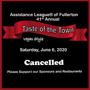Taste of the Town Cancelled
