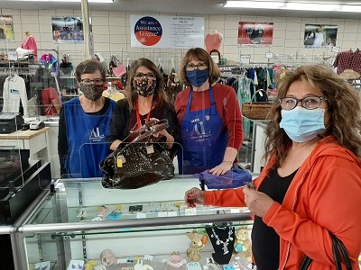 Thrift Shop Reopens
