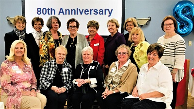 Past Presidents Attending Our 80th Anniversary Celebration.