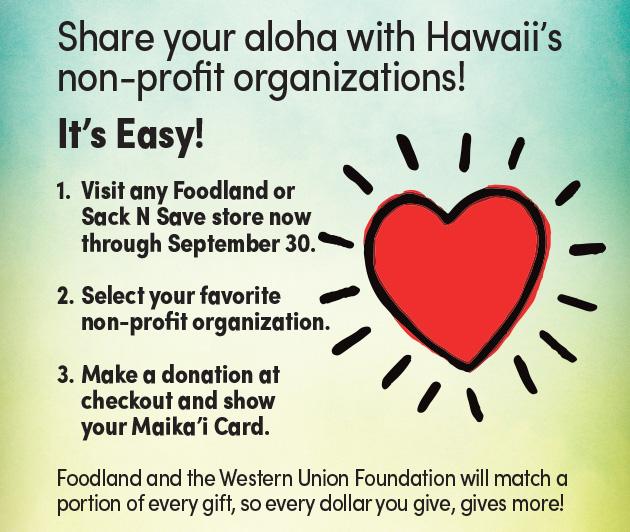 Foodland's Give Aloha