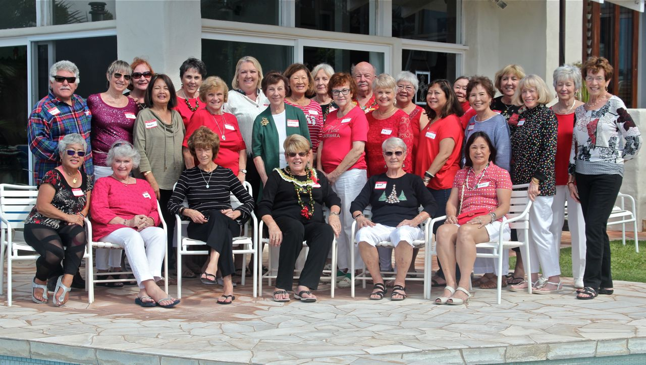 Assistance League of Hawaii members 2018