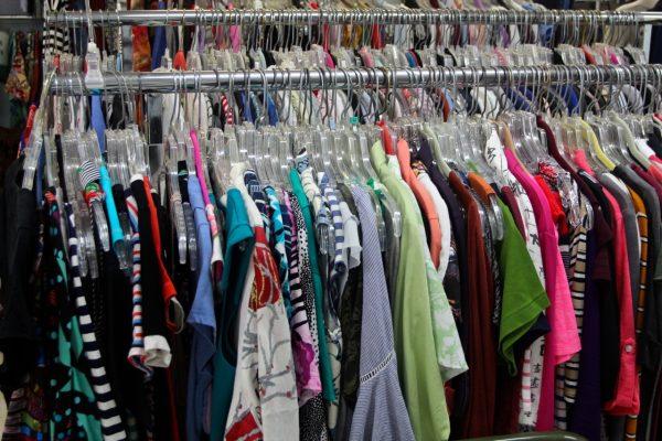 Clothes Rack with Plenty