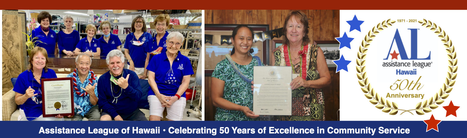 Assistance League of Hawaii is 50 Years Old
