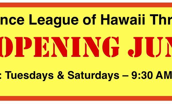 Re-Opening June 2