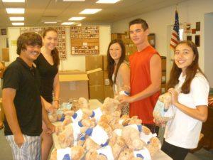 Assisteens packaging bears