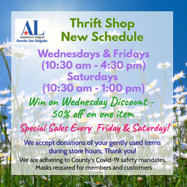 ALRSD Thrift Store Info