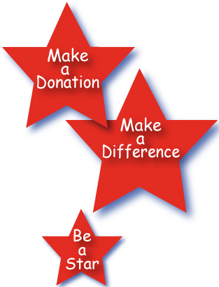 Make a Donation - Maker a Difference - Be a Star