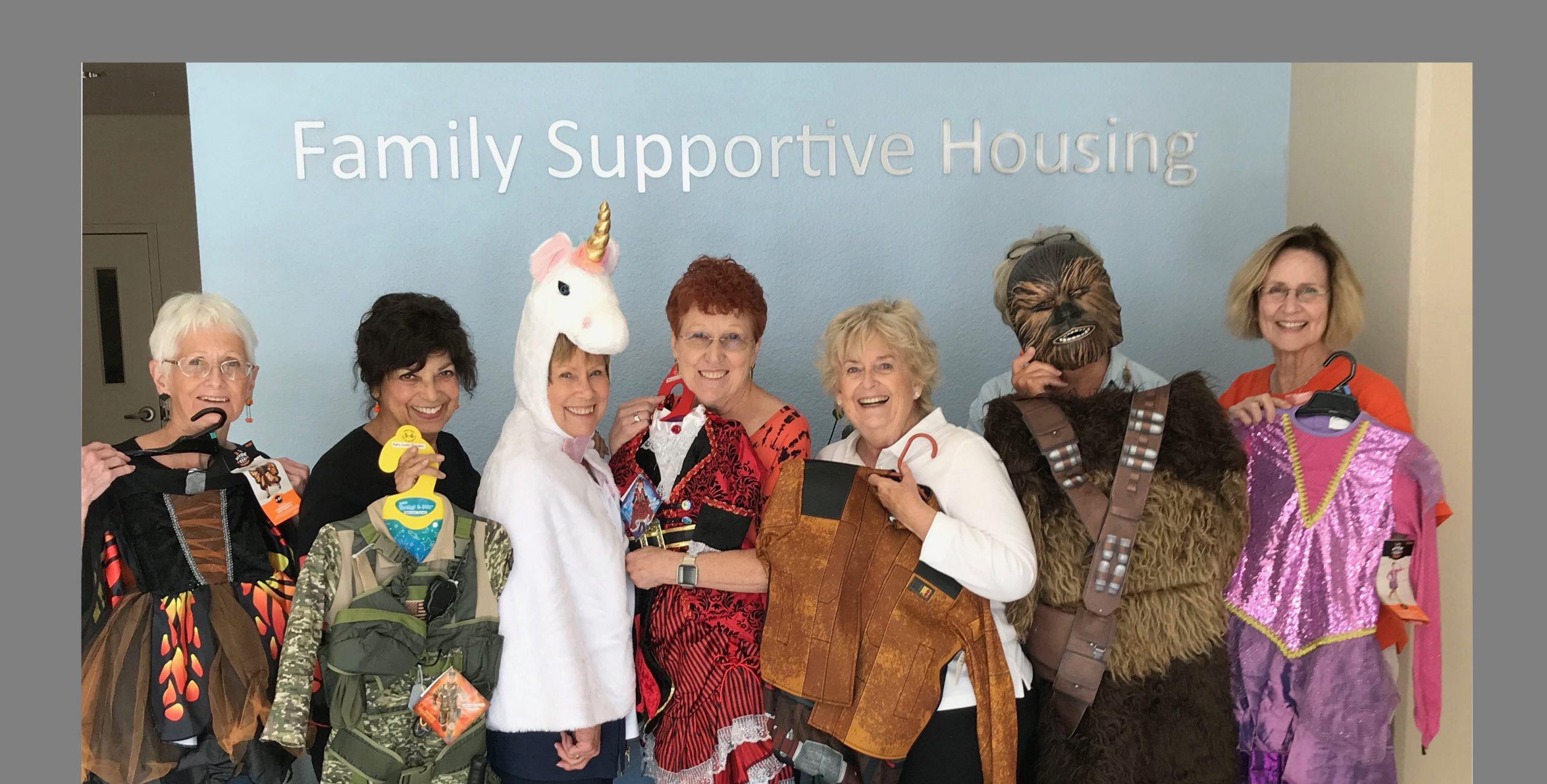 Assist-a-Shelter - Halloween at Family Supportive Housing