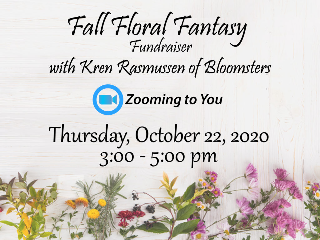 Fall Floral Fantasy Fundraising Event